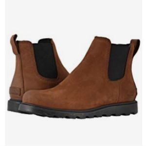 Sorel Ainsley chukka boots brown burro